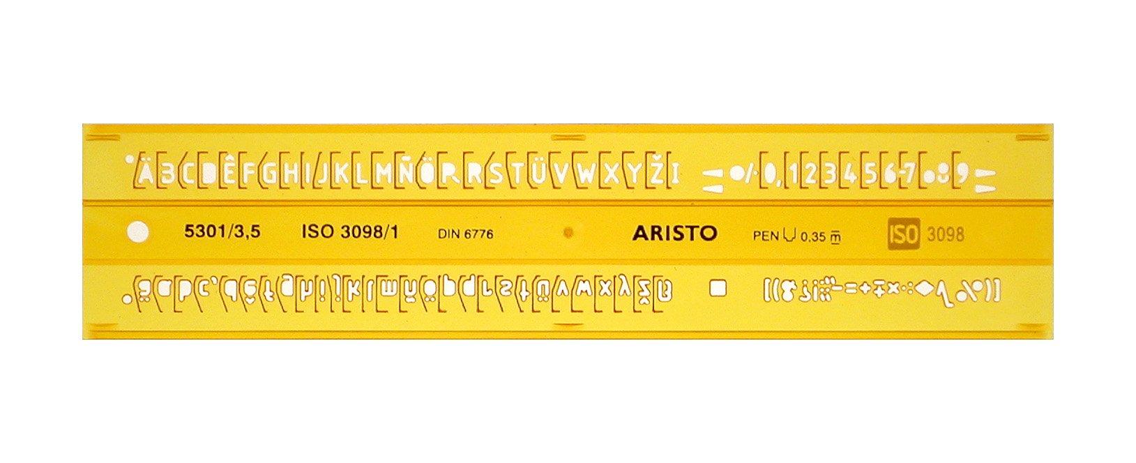 Aristo AR5301/3 STENCIL, H-PROFIL, 3,5 MM, UPR.