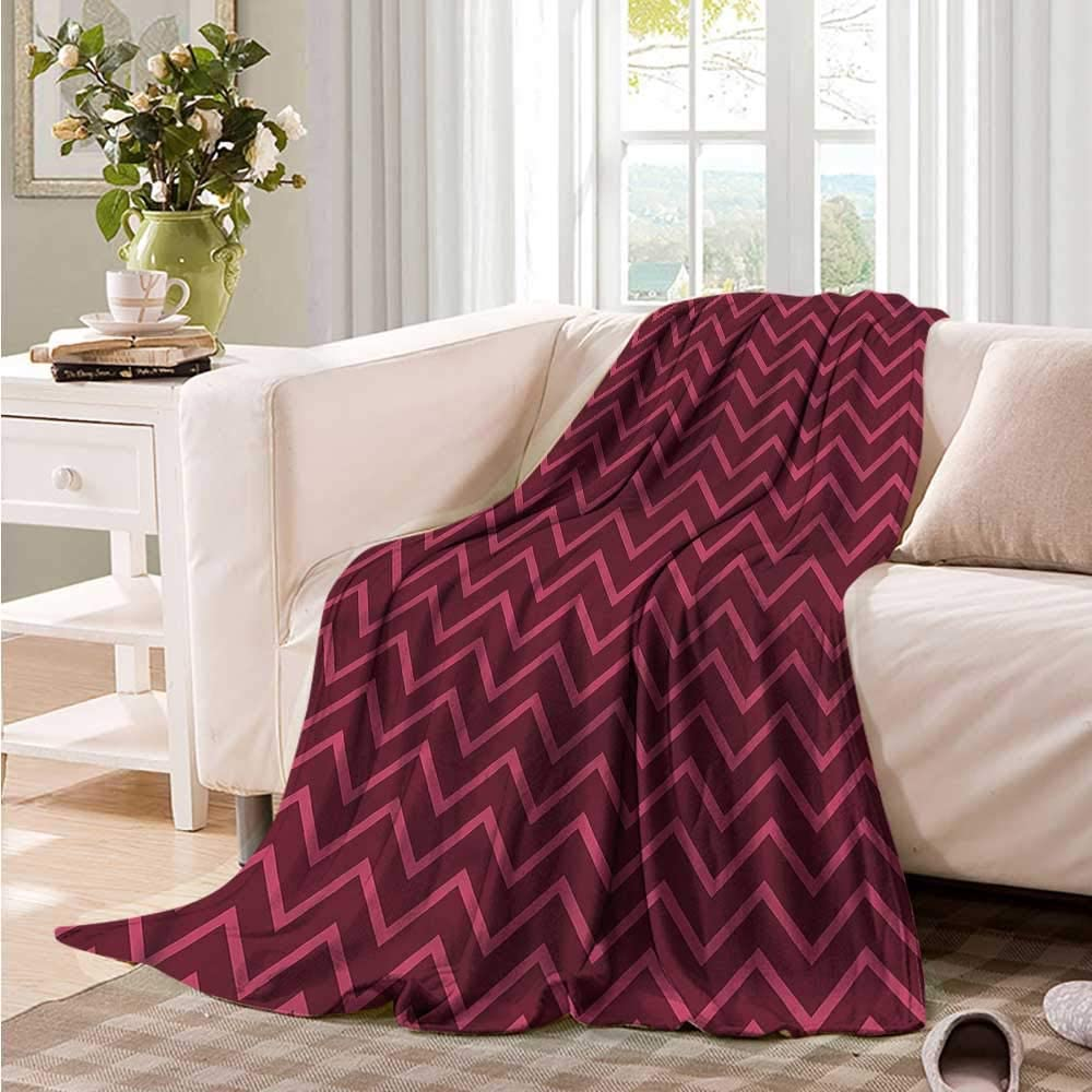 homehot Blanket Storage Bags with Zippers Brick Wall,Warm Toned Architecture 70x60,Blankets for Baby