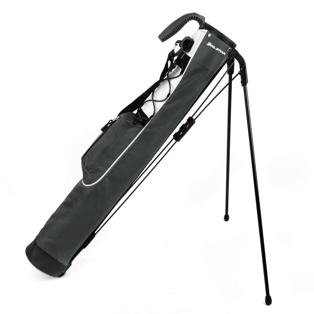 Orlimar Pitch & Putt Golf Lightweight Stand Carry Bag, Slate Grey