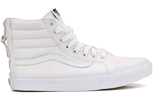 Image Unavailable. Image not available for. Color  Vans Women s SK8-Hi Slim  Zip Star Dots True White ... a3ecfc94a