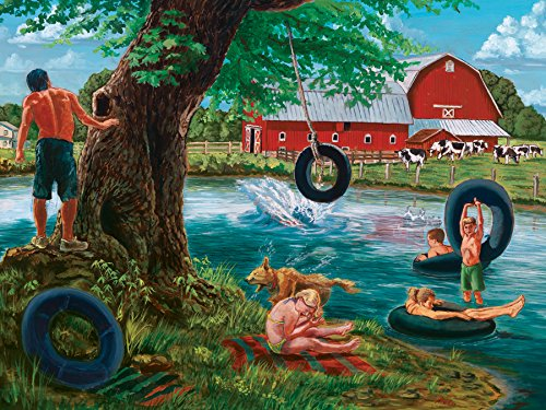 Cobble Hill The Swimming Hole Jigsaw Puzzle, 500-Piece