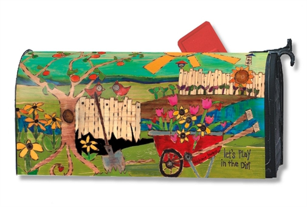 MailWraps Dig in the Dirt Mailbox Cover 01334