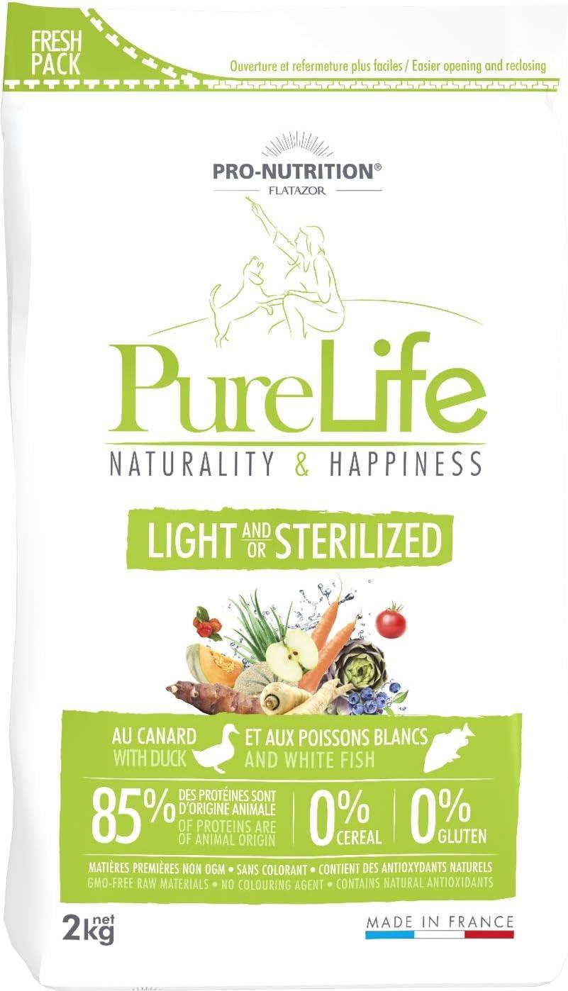 Pro Nutrition flatazor–Pure Life Light stérilisé 2kgs