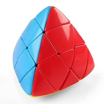 D-FantiX Shengshou Mastermorphix 3x3 Cube Stickerless Magic Cube Puzzle