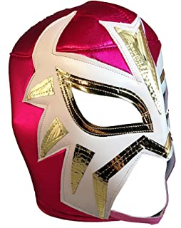 LA MASCARA Adult Lucha Libre Wrestling Mask (pro-fit) Costume Wear - Hot