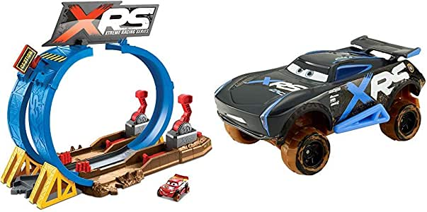 Cars XRS - Pack Pista de coches Superlooping + Vehículo XRS ...