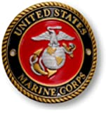 Marine Hiking Stick Medallion