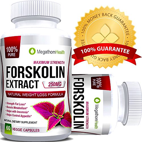 Pure Forskolin Extract for Weight Loss | MEGATHOM Health Nutrition