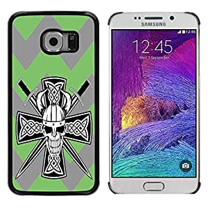 Dragon Case - FOR Samsung Galaxy S6 EDGE - Do not deceive me - Caja protectora de pl??stico duro de la cubierta Dise?¡Ào Slim Fit