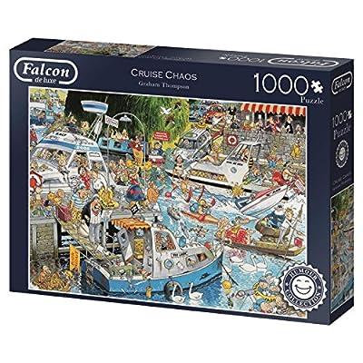 Falcon De Luxe 284429 Cm Graham Thompson Cruise Chaos Puzzle Da 1000 Pezzi