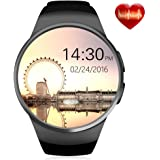ZAOYI  Smart Watch Cell Phone,  Bluetooth Smartwatches, Touch Screen Support SIM Card TF Card with Heart Rate Monitor Fitness Activity Tracker For Man and Women, Compatible with iOS and Android Phone