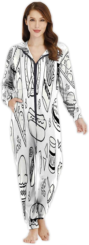 Dxichy Wooden Plank Africa map,Women's Onesie Pajamas Sportswear M