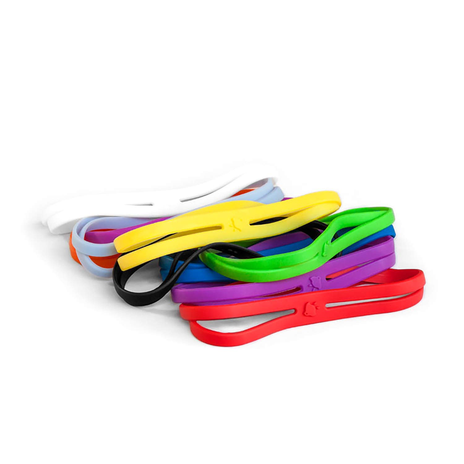 """Grifiti Band Joes X Cross Style 6"""" 5 Pack Heat Cold UV and Chemical Resistant Cooking Grade Silicone Rubber Bands"""