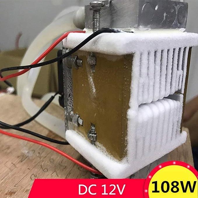 Zinniaya DC12V 108W Ventilador de radiador de refrigeración por ...