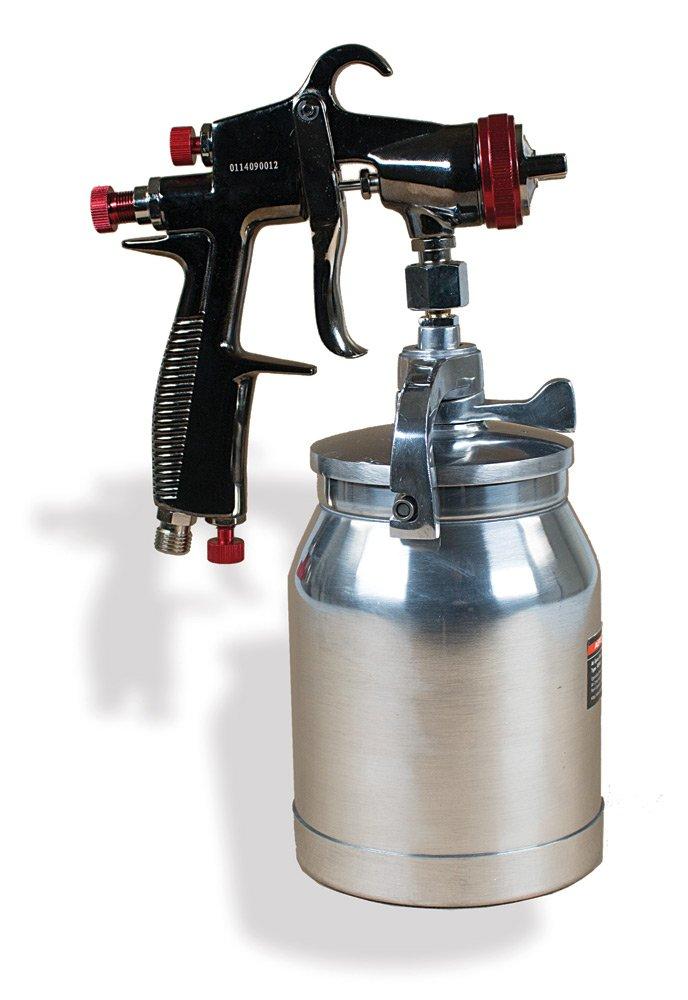 AEROPRO USA R200S LVLP Suction Feed Air Spray Gun, 1.5 mm Nozzle