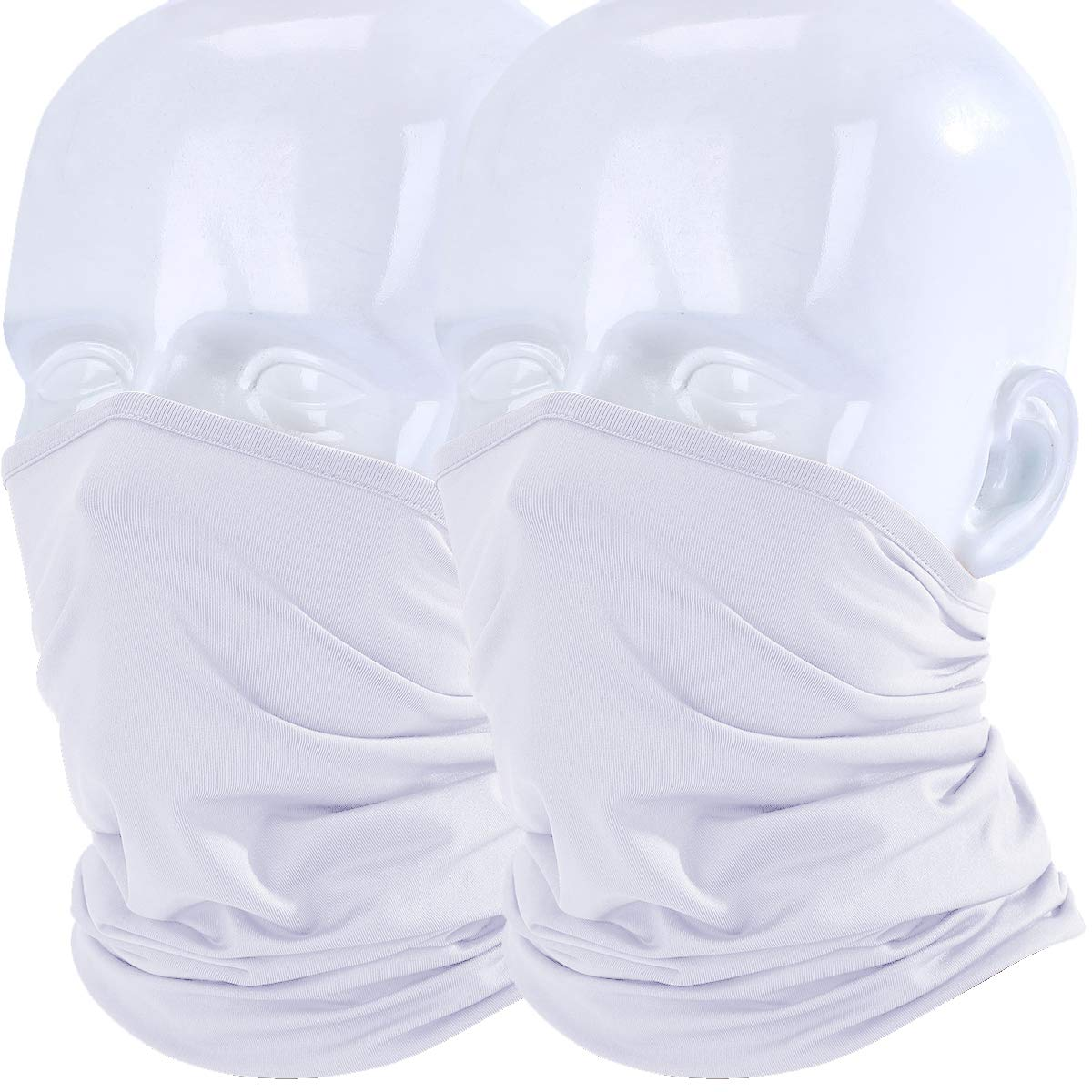 WTACTFUL - Copricollo/maschera leggero anti-vento/sole/raggi UV, protezione per sport estivi all' aperto protezione per sport estivi all' aperto UK-AX-C-06-2PCS