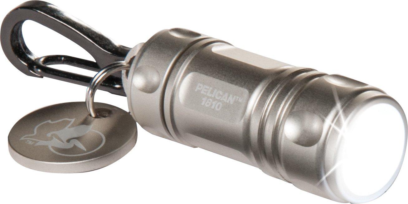 Pelican 1810C Keychain Flashlight (Silver)