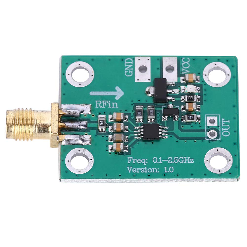 Rilevatore logaritmico del misuratore di potenza RF da 0,1-2,5 GHz Frequenza di lavoro da 2dBm Potenza di misurazione 72dBm a