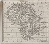 Historic 1802 Map | Africa | Antique Vintage Map Reproduction