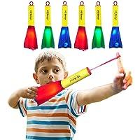 6 Pack Dedo del Cohetes de energía,Brilla en