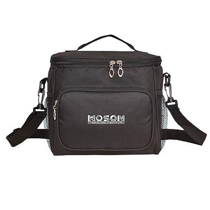 WOSON Bolsa Térmica Porta Alimentos Nevera Portátil para Enfriamiento Alimentos Almuerzo Lunch Bag (10.3L