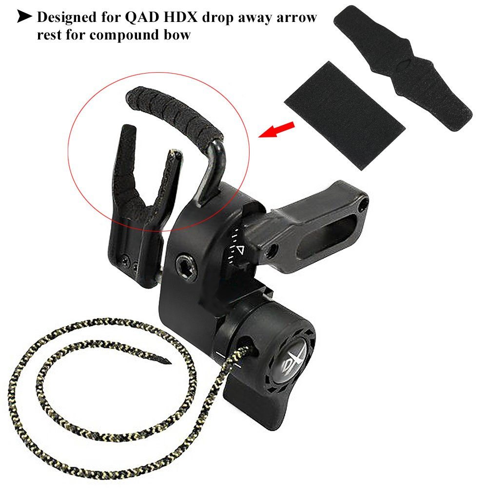 Arrow Rest Anti Slip Sticker Set Compound Bow Hunting Accessory for QAD HDX Drop Away Arrow Rest 2 Set