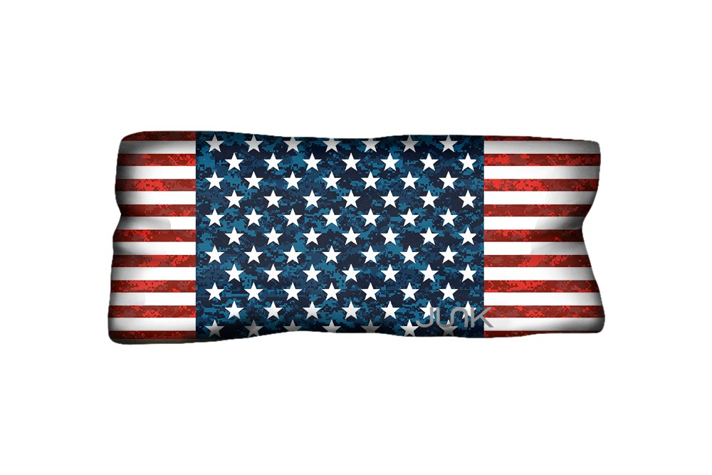 JUNK Brands Big Bang Americana Collection Honor Headbands, One Size, Red/White/Blue by JUNK Brands (Image #1)