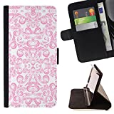 Bright-Giant (White Pink Tea Cup Porcelain Imitation) Colorful Pattern Flip Wallet Leather Holster Protective Skin Case Cover For HTC Desire 626 626w 626d 626g 626G dual sim