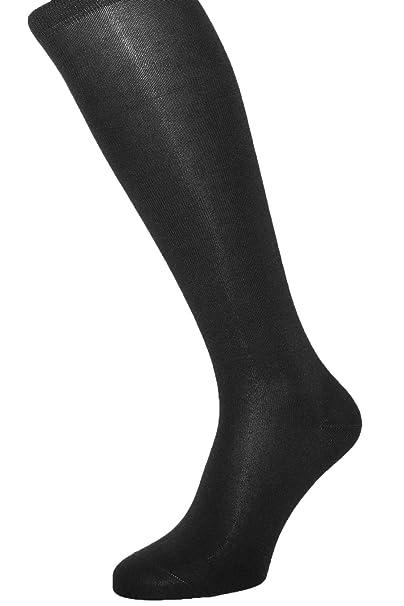 ALBERT KREUZ calcetines hasta la rodilla para hombre de algodón con interior de cachemir - varios colores - un par - Made in Germany: Amazon.es: Ropa y ...