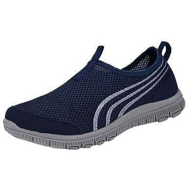 Darringls_Zapatos de hombre,Zapatillas Deporte Hombres Zapatillas de Senderismo Calzado de Trabajo Seguridad Atlético Deportes Al Aire Libre Senderismo ...