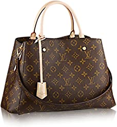 f3da8af4c64 Louis Vuitton Montaigne MM Monogram Handbag Article: M41056 Made in France