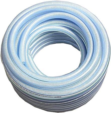 HYRGLIZI Manguera de jardín, 1 Pulgada (25 mm) de diámetro Fibra más Alambre Tubo de plástico PVC Tubo de Agua de Alta presión Resistente a ácidos y álcalis anticongelante (Size : 50m(164ft)):
