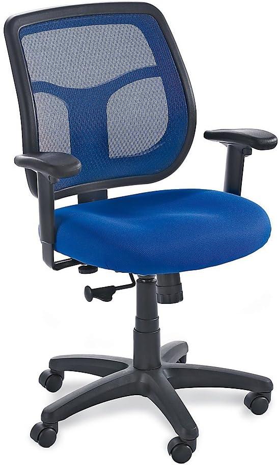 Eurotech Mesh Back Mid-Back Task Chair - MT9400 Blue