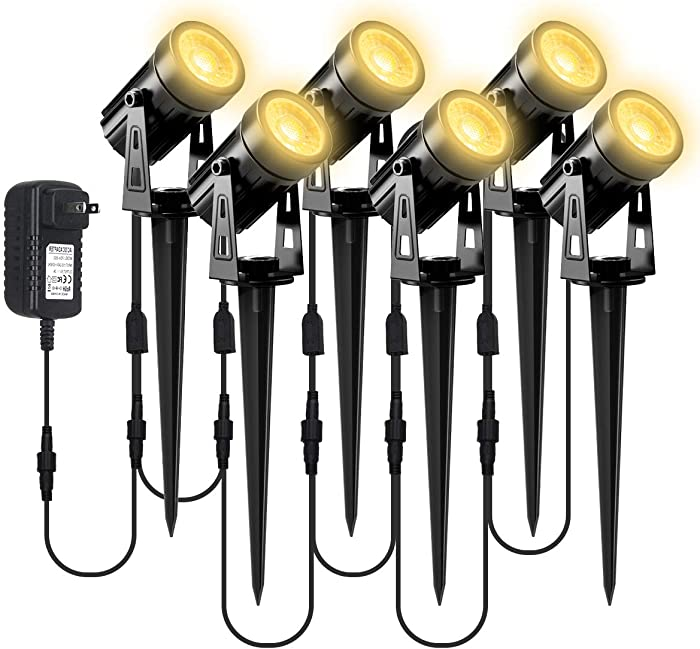 Top 10 Garden Spotlight Solar 6Pack