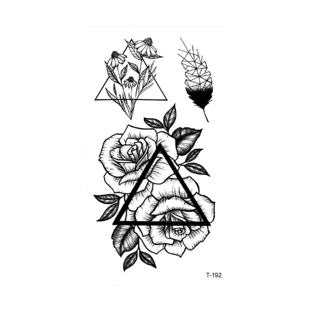 3 Unids-pequeño fresco impermeable etiqueta engomada del tatuaje ...