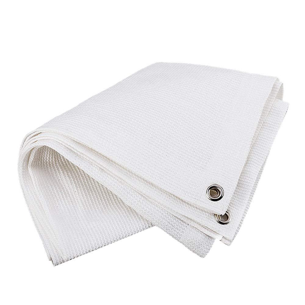 Blanc 6.5×16ft 2×5m Axdwfd Tissu d'ombrage à 85%, écran de prougeection anti-vent pour écran de prougeection anti-vent de barrière blanche, toile de prougeection pour bÂche d'ombrage - Usage intensif - Nous faisons la taille p