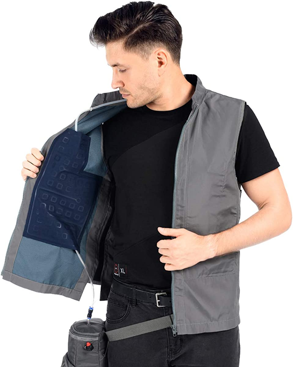 Summer Cooling Vest for Fishing,Cycling,Running,Cooking,Gardening