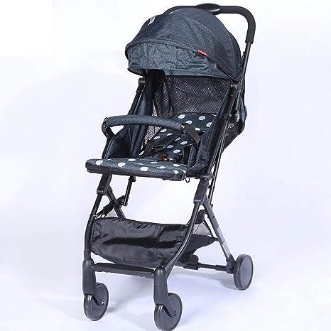 Ambiguity Sillas de Paseo,Bebé a bebé Reversible de Barra del tirón del Carro Ligero