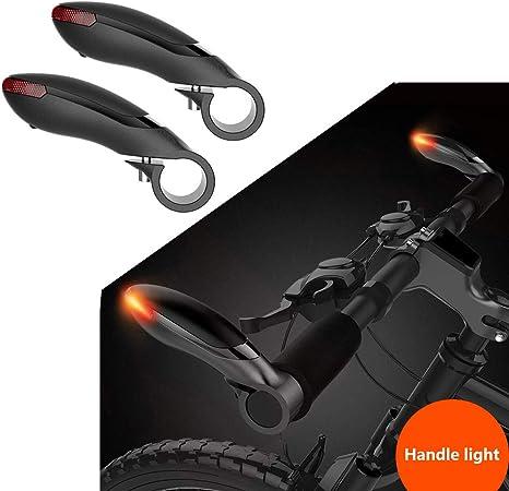 Super Bright MTB - Luces LED para Manillar de Bicicleta, luz Intermitente para Ciclismo, montaña, Manillar de Bicicleta, luz de Advertencia de Seguridad: Amazon.es: Deportes y aire libre