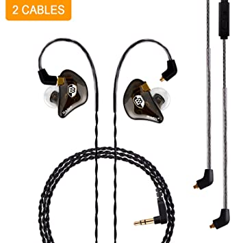 BASN Bsinger+PRO in-Ear Monitor, Dual Drivers Headphones (Earbuds/Earphones