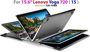 """mCover Hard Shell Case for 15.6"""" Lenovo Yoga 720 (15) Laptop Computers (Black)"""