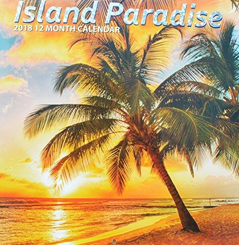 2018 Island Paradise Wall Calendar