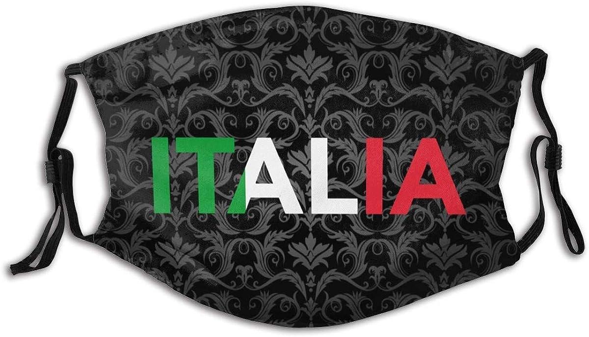 Unisex Wiederverwendbare italienische Italien Italien Flagge Flagge Gesicht Dekoration Outdoor Staubtuch Gesicht Dekoration