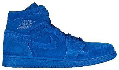 best sneakers 22d6f e8b41 Nike Air Jordan 1 Retro Hoch Herren Schuhe - Team Königsblau Team Königsblau,  43