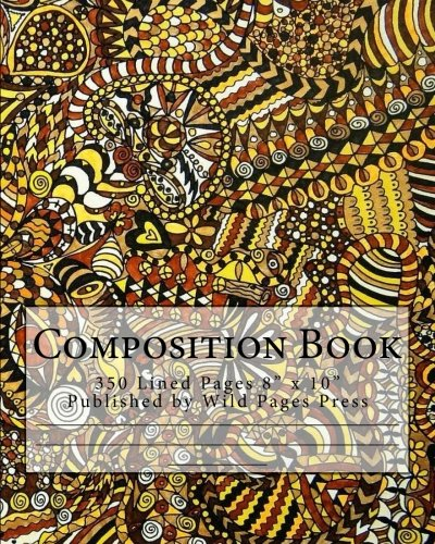 Composition Book: Authentic Indigenous Artwork Cover