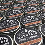 Shaving Soap - Traditional 100% Natural Cedar Spice Shave Soap - Long Lasting 3.7 oz for Rich & Thick Lather Shaving Cream - For All Skin Types - Made with Shea Butter & Cinnamon Leaf Oil