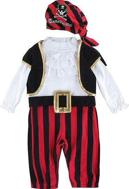 Pirat Freibeuter Overall Größe 92