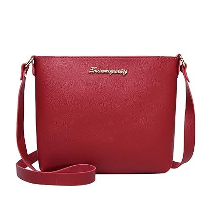 2bc7fe0fdec2 Amazon.com: Bloomn handbag Women Crossbody Satchel Bag Color ...