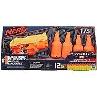 Lanca Dardos Alpha Cobra Com Target - E7858 - Hasbro Nerf Lanca Dardos Alpha Cobra Com Target Laranja/amarelo E Preto