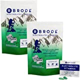 Brode Electrolyte Vitamin - Portable Zero-Sugar Electrolyte Tablets - for Sports, Hangovers, Jetlag, 5 Essential…